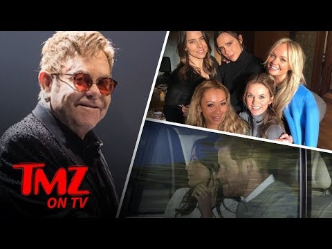 Elton John's Performing At The Royal Wedding! | TMZ TV