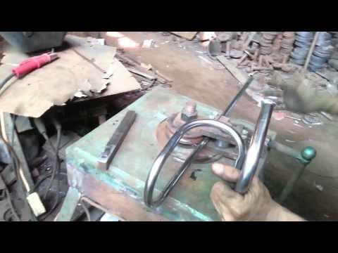 roll bending pipe machine