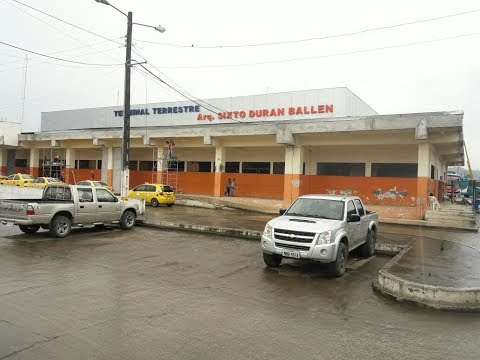 Terminal Terrestre Sixto Durán Ballén cuenta con 75% de avance de su reconstrucción
