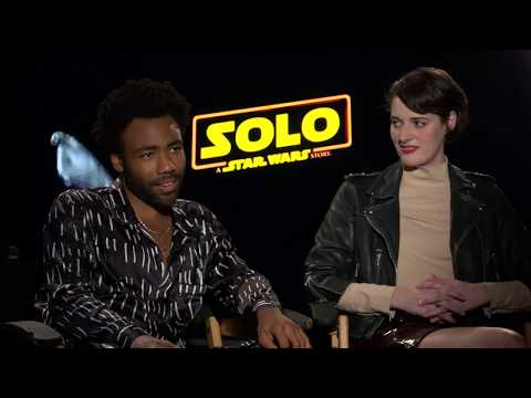 Donald Glover, Phoebe Waller-Bridge, and Joonas Suotamo on Solo: A Star Wars Story