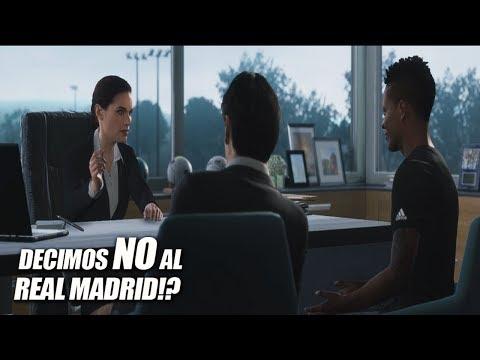 "LE DECIMOS ""NO"" AL REAL MADRID!!!??? ALEX HUNTER - THE JOURNEY | FIFA 18"