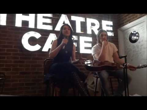 Danielle Hope - Performances and Q&A at 'The Theatre Cafe' (29.03.16)
