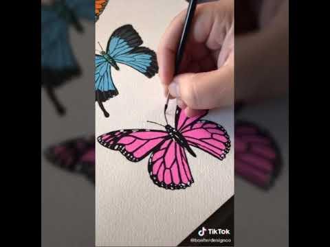#03. Đôi bàn tay tài hoa, vẽ tranh đơn giản bằng màu nước