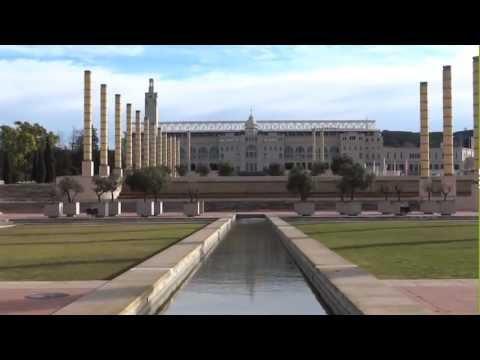 Barcelona, Spain - Parc de Montjuïc HD (2013)