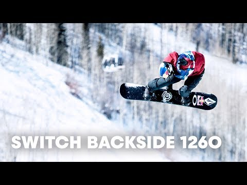 One snowboarding trick sent this guy to the podium.   w/ Scotty James