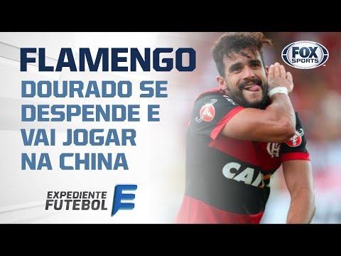 Edmundo diz o que achou da saída de Dourado do Flamengo