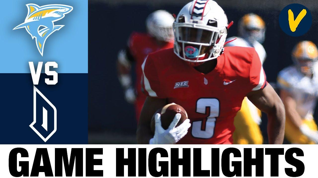 LIU vs Duquesne Highlights | FCS 2021 Spring College Football Highlights