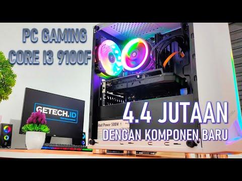 #13 RAKIT PC GAMING 4 JUTAAN PAKE CORE I3 9100F DENGAN KOMPONEN BARU ALA GETECH.ID