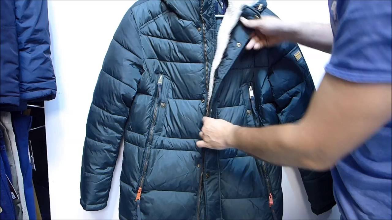 Мужская кожаная куртка зимняя с AliExpress Unboxing - YouTube