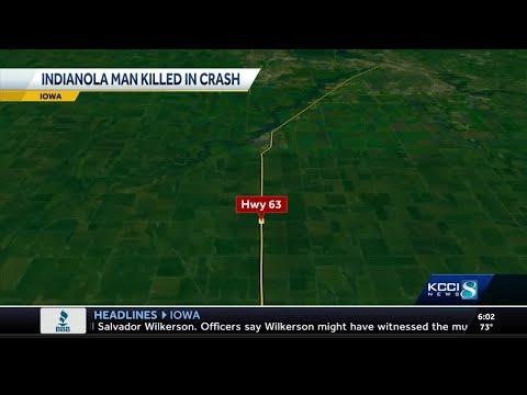 Iowa Man Killed In Highway Crash