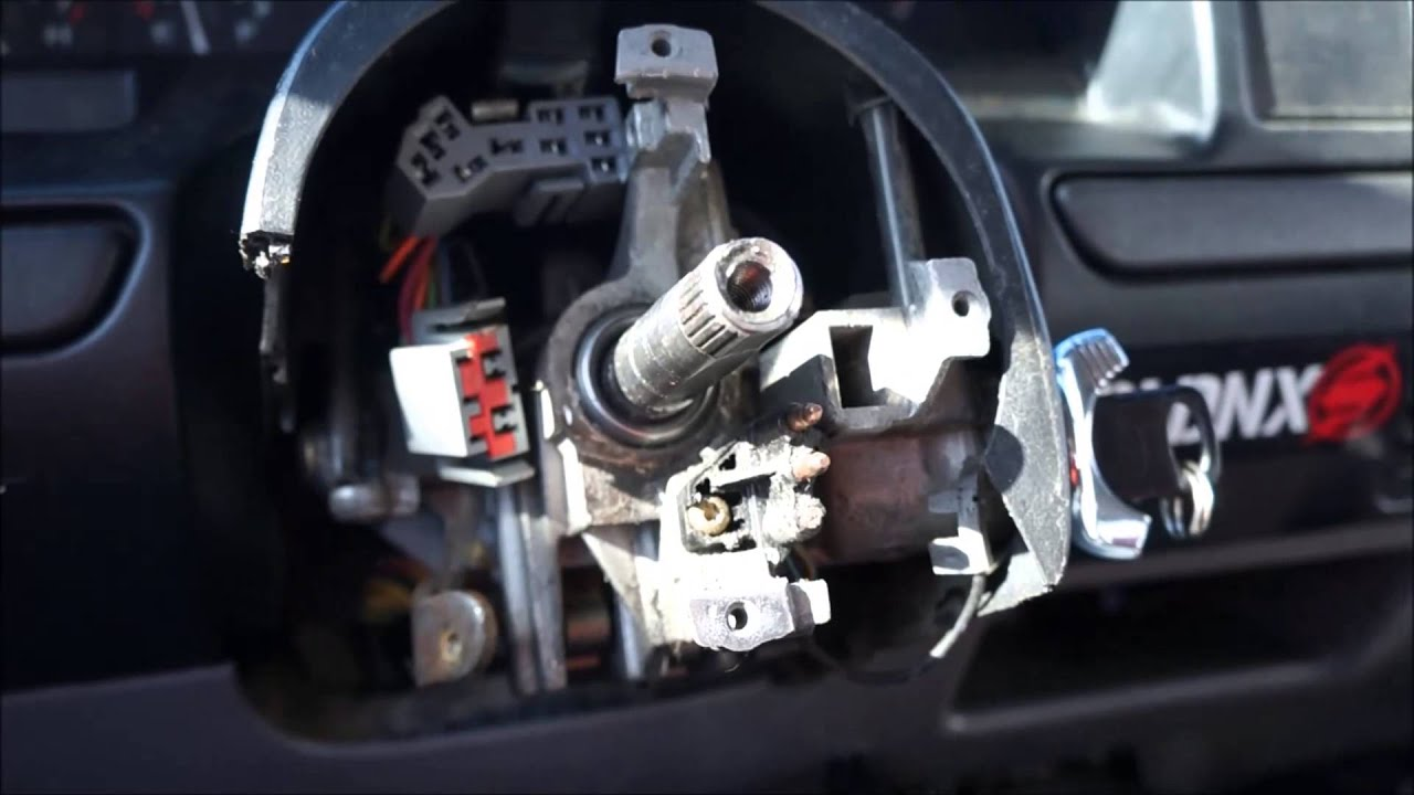 obs ford truck loose steering column upper bearing repair / replacement