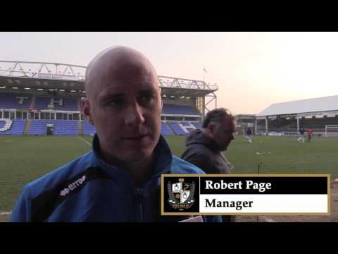 Freeview: Rob Page Post Peteborough United (A) 2015/16