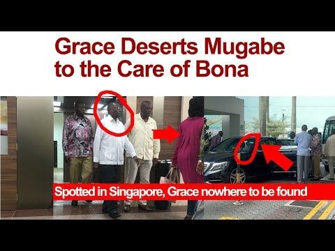 Grace Deserts Sick Mugabe to The Care of Bona