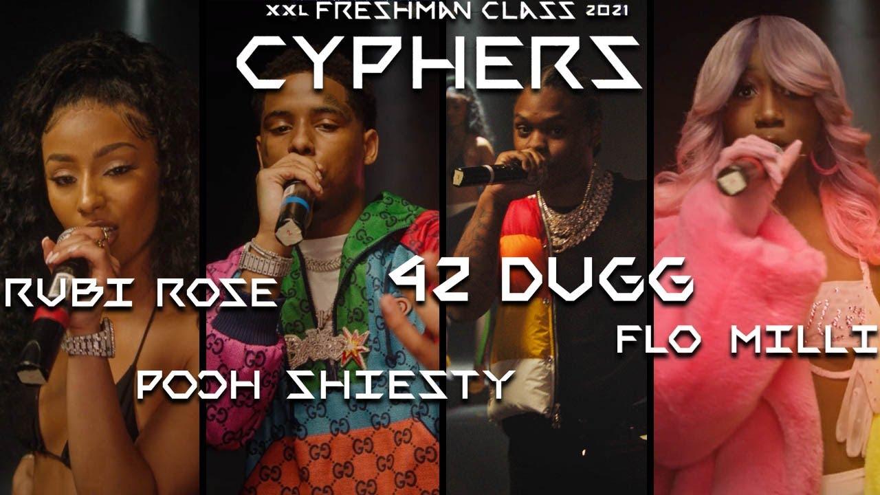 Download Pooh Shiesty, Flo Milli, 42 Dugg and Rubi Rose's 2021 XXL Freshman Cypher
