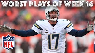 Worst Plays of Christmas Weekend 🎄 | NFL Week 16 Highlights