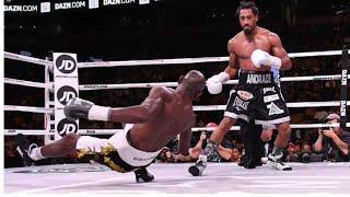 Demetrius Andrade vs Walter Kautondokwa Full Fight Highlights (Review) 4 knockdowns