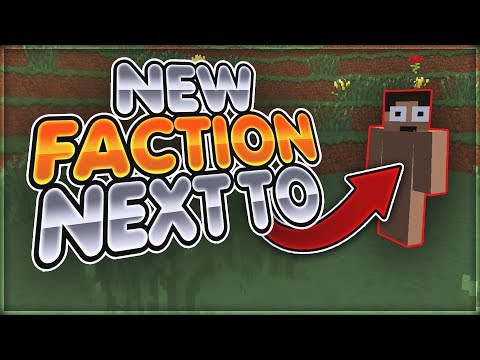 WE JOINED A NEW FACTION NEXT TO LOLITSALEX! Minecraft Factions (Arcane) #2
