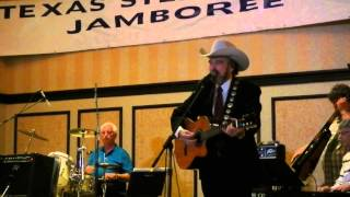 2014 Texas Steel Guitar Convention....Johnny Bush -- There stands the Glass