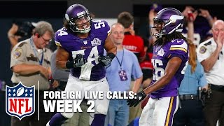Top 5 Foreign Live Calls of Week 2   NFL