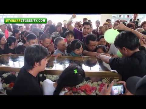 Funeral of Myanmar Famous Composer K.A.T
