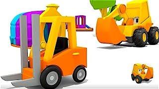 Carros para niños - Excavadoras - Carretilla elevadora - La Excavadora Max