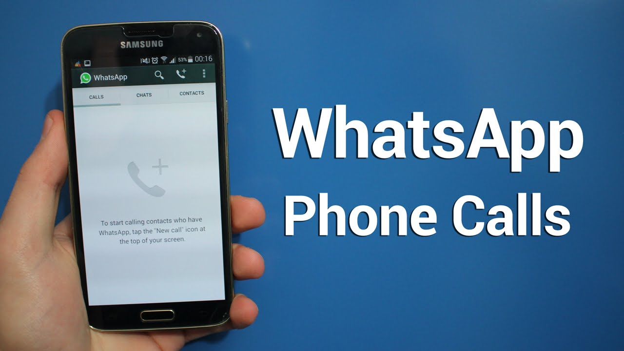 Phone Free Whatsapp For Android Phones how to enable whatsapp phone calling feature youtube