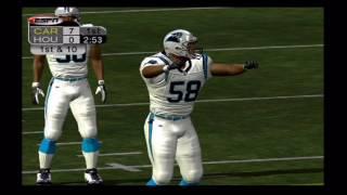 ESPN NFL 2K5 - Texans VS Panthers - Original Xbox