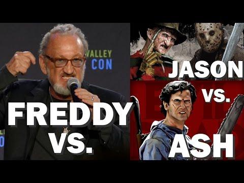ROBERT ENGLUND says FREDDY VS. JASON VS. ASH  MOVIE ALMOST MADE! Silicon Valley Comic Con 2017 Panel