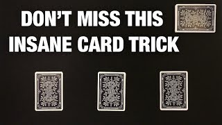 Very Clever NO SET UP Card Trick!