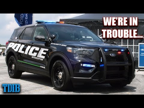 400HP Police Interceptor Review - A Car Guys' Worst Nightmare
