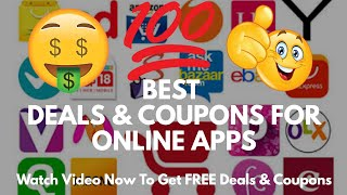 Best App To Get FREE Coupons & Offers For Online Shopping 🔥