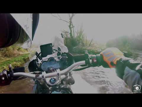 Bike dies mid water crossing