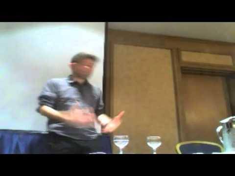 Abie Philbin Bowman comedy at Atheist Ireland event