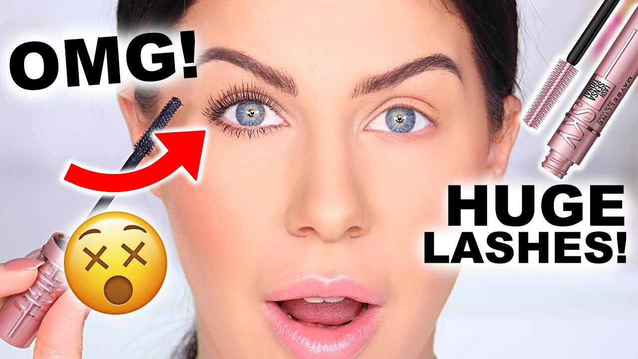 BEST DRUGSTORE MASCARA EVER?? LONG THICK, CURLED LASHES!!