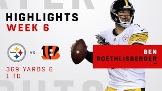 Ben Roethlisberger Highlights vs. Bengals