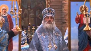 Литургия в праздник Покрова Богородицы