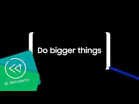 Samsung Galaxy Note 8 - Primer trailer oficial | El recuento