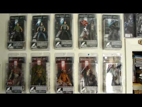 Neca Resident Evil Figures - Complete Collection!