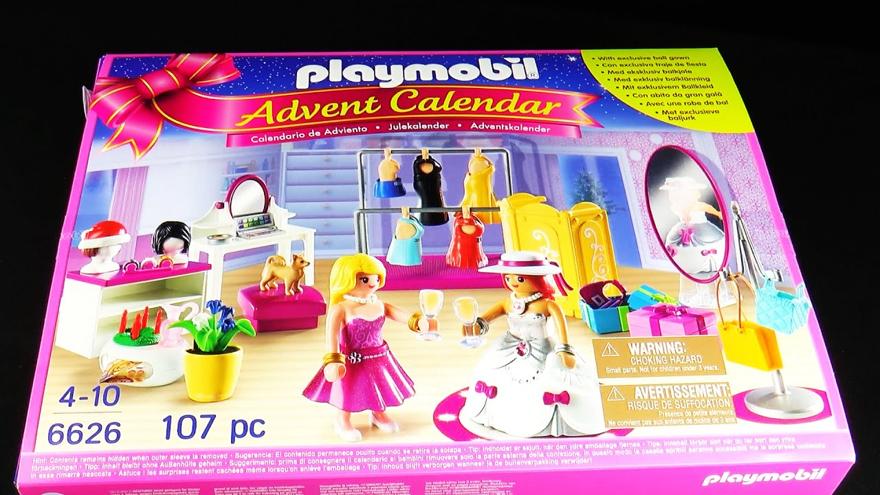 Playmobil Advent Calendar 6626 Christmas Surprise Toys - YouTube