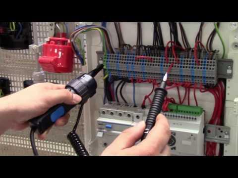 Prüfen und Messen von elektrischen Anlagen mit Schützen