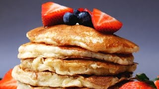 Fluffy Buttermilk Pancakes - Simple Pancake Recipe -  Treat Factory