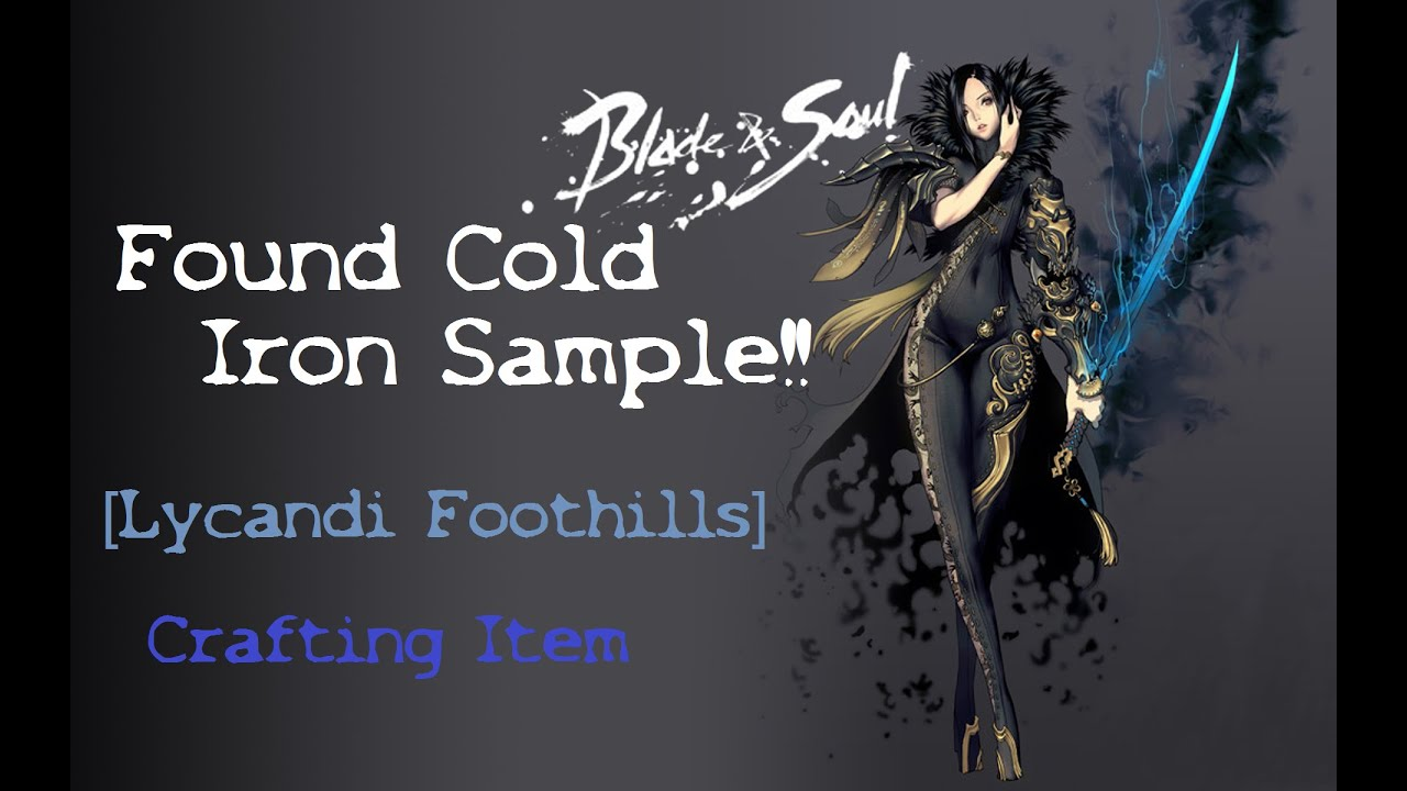 Blade And Soul Crafting