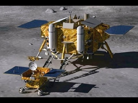 Chang'e 3 Chinese moon rover launched successfully the first soft landing on the moon in 37 years
