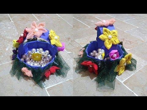 How To Make A Paper Basket - DIY - Paper Craft