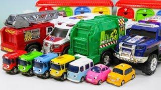 디키 토이즈! 구급차 소방차 청소차 대형 트럭 타고 씽씽 놀자!!로보카폴리 꼬마버스타요 친구들 탑승완료!!