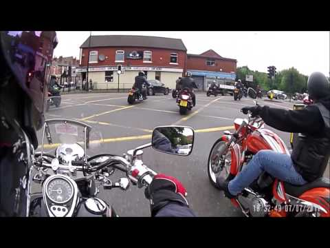 Prom Ride British Bulldogs MCC and Last Bastion MC with Blac