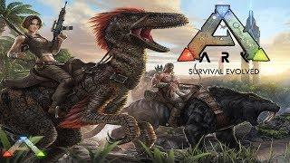 ARK: Survival Evolved dino medības ar LAT-Reini
