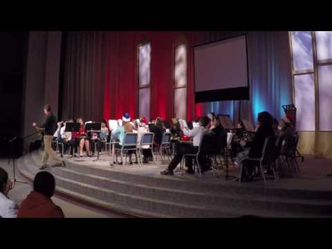 Indian Land Middle School 7th Grade  Winter Band Concert 2016 (RAW)