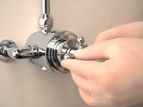 Hudson Reed USA Dual Type Shower Calibration