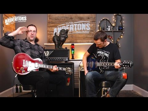 Epiphone 100th Anniv Les Paul plus Gary Clark Jr Casino Demo